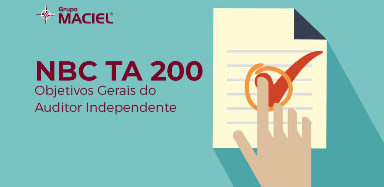 NBC TA 200 - Objetivos Gerais