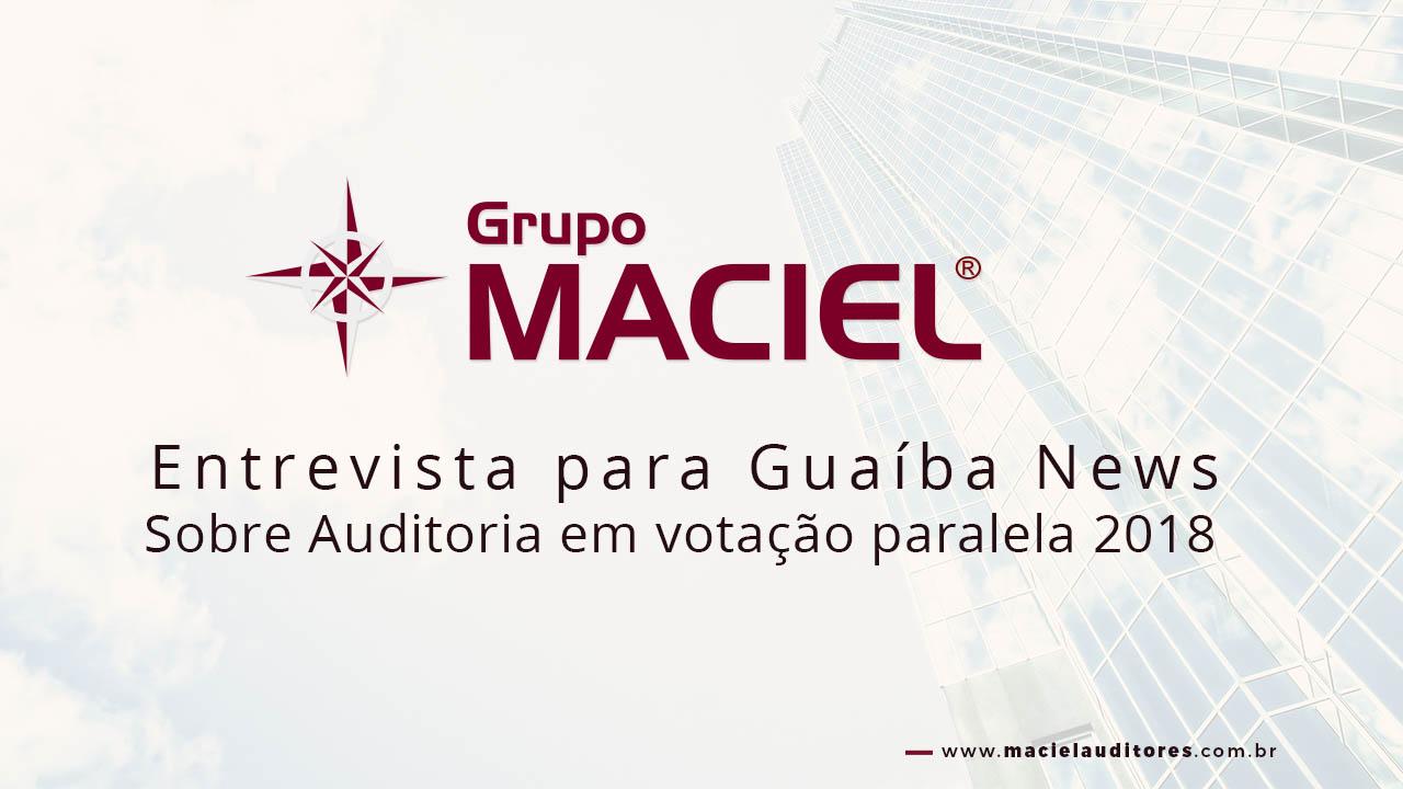 Guaíba News Auditoria Entrevista