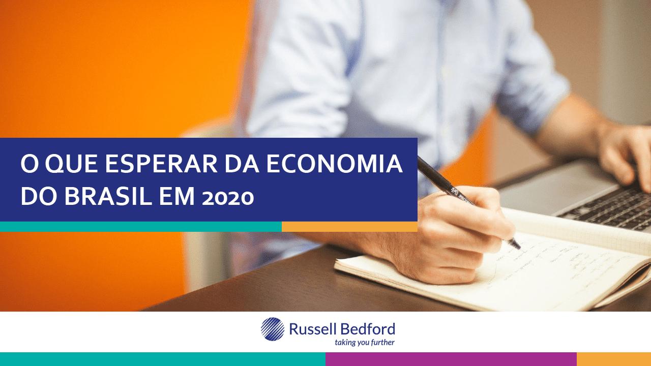 O que esperar da economia do Brasil em 2020